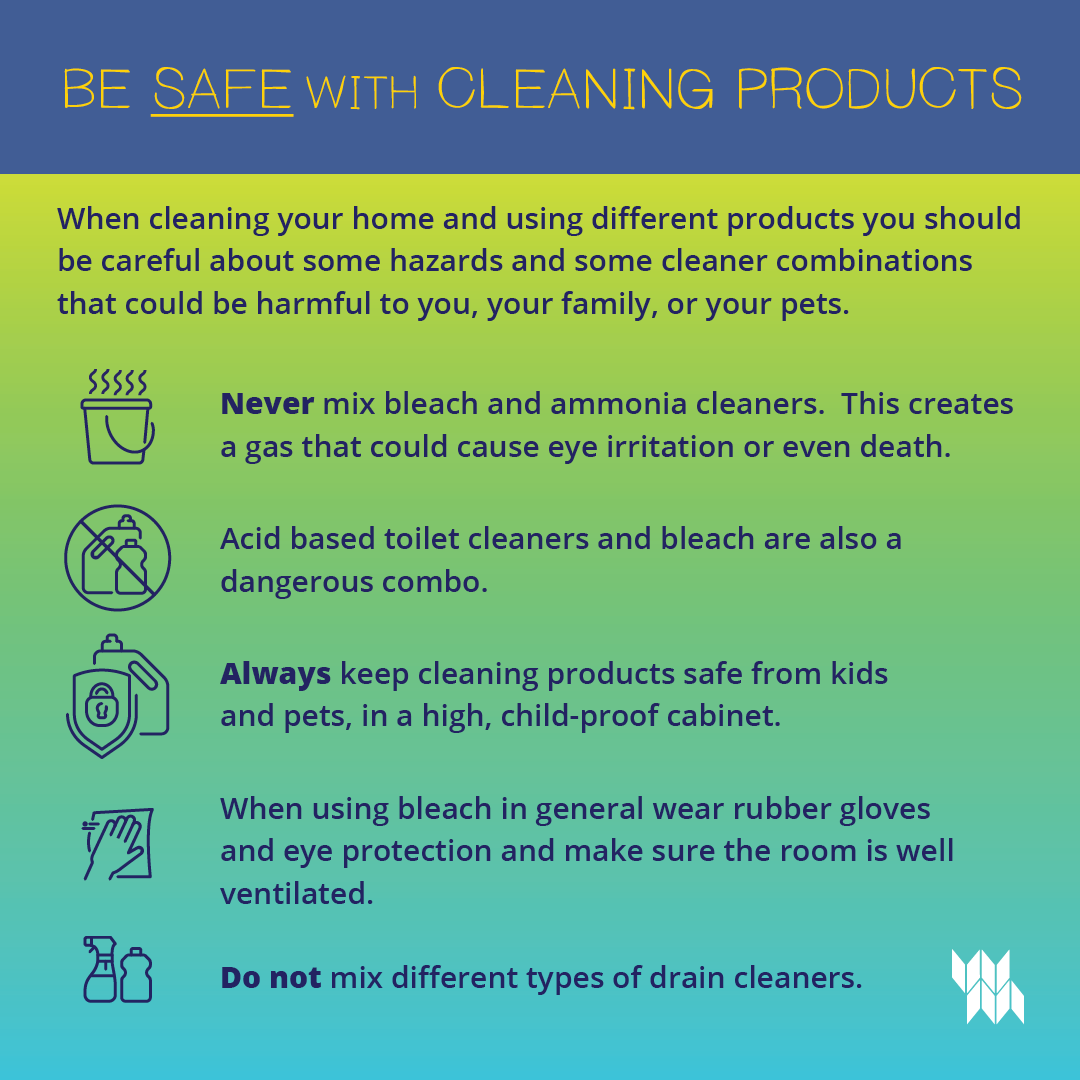 cleaning product safety